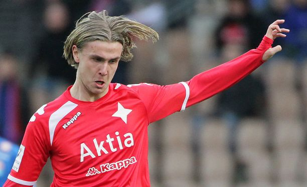 Daniel Rantanen osui AIK:n verkkoon. Arkistokuva.