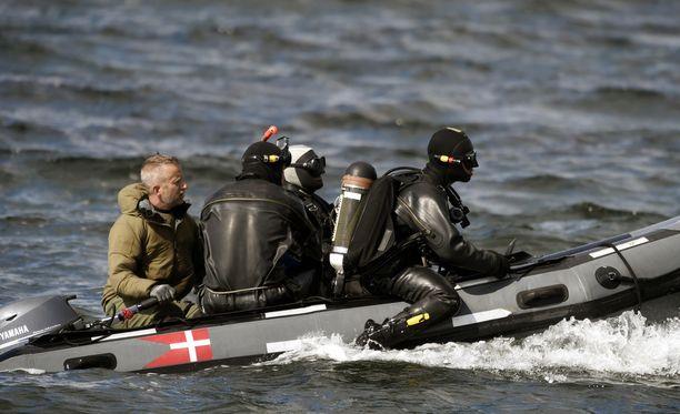 Kim Wallin ruuminjäsenten etsintää on jatkettu Kööpenhaminan lähistöllä.