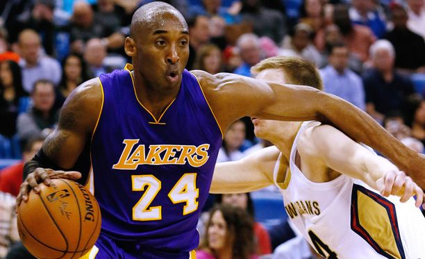 Korislegenda Kobe Bryantilla oli epäonnea.