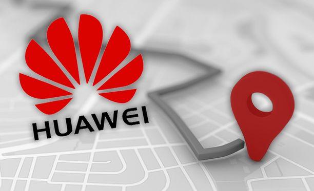Huawei alkaa käyttää TomTomin karttoja.