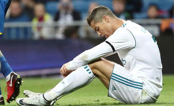 Cristiano Ronaldolla ei kulje La Ligassa.