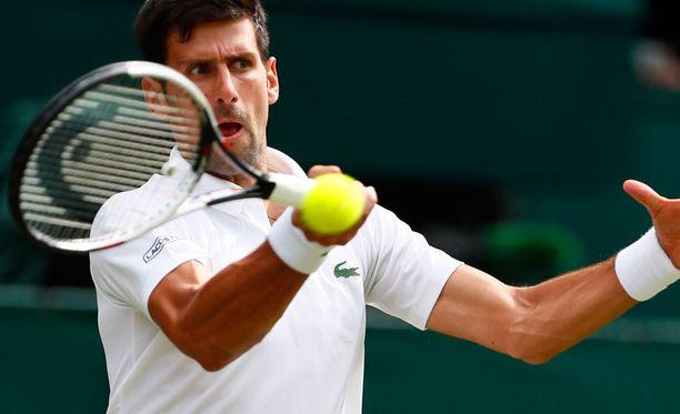 Novak Djokovicin ei täytynyt työskennellä täyttä päivää Wimbledon-avauksessa.
