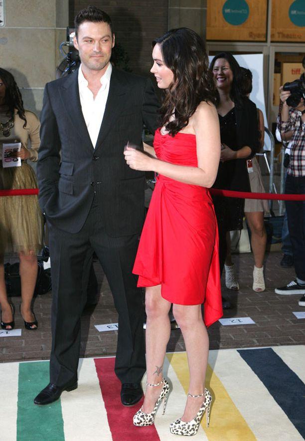 Megan ja Brian ovat olleet yhdessä jo kahdeksan vuotta.