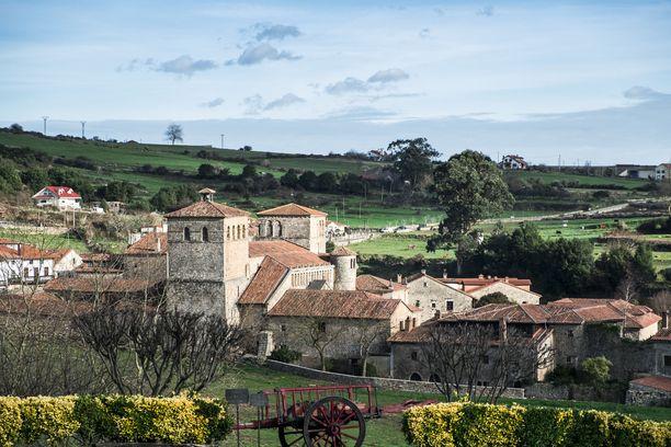 Santillana del Mar valittiin Espanjan kolmanneksi kauneimmaksi kaupungiksi.