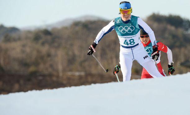 Krista Pärmäkoski janoaa lisää menestystä Koreassa.