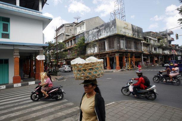 Rikos tapahtui Balin Denpasarissa.