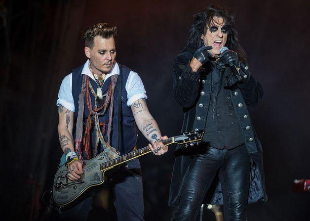 Johnny Depp saapuu ensimmäistä kertaa Suomeen.