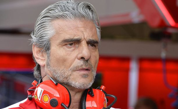 Maurizio Arrivabene oli vielä varsin niukkasanainen Kimi Räikkösen kolarista.