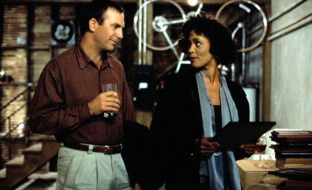Bodyguard-elokuvassa Houston näytteli Kevin Costnerin rinnalla.