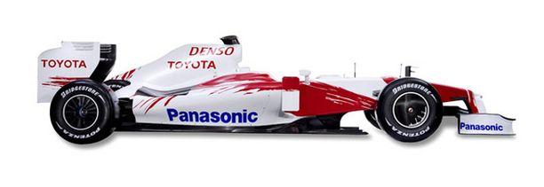 Siinä se on: F1-hirmu suoraan Japanista.