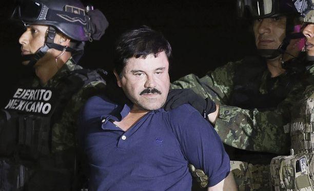 """Meksiko hyväksyi Joaquin """"El Chapo"""" Guzmanin luovutuksen Yhdysvaltoihin."""