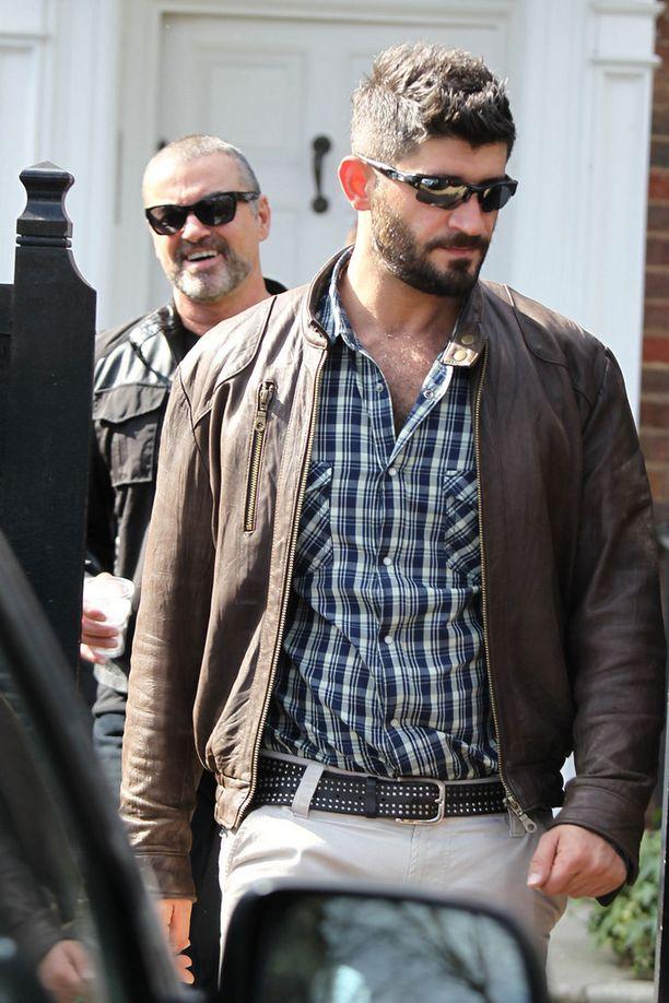 Fawaz ja Michael yhdessä suhteen alkuaikoina vuonna 2012.