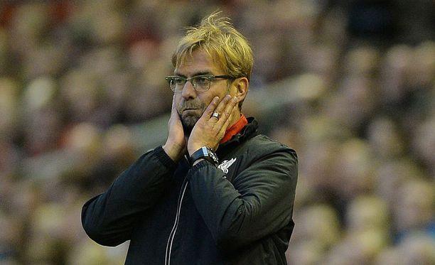 Jürgen Klopp on johdattanut Liverpoolin kolmeen peräkkäiseen tasapeliin.