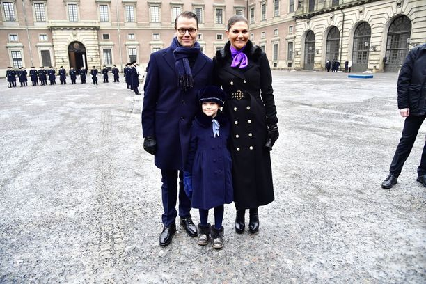 Victoria ja Daniel olivat jättäneet kuopuksensa prinssi Oscarin kotiin.