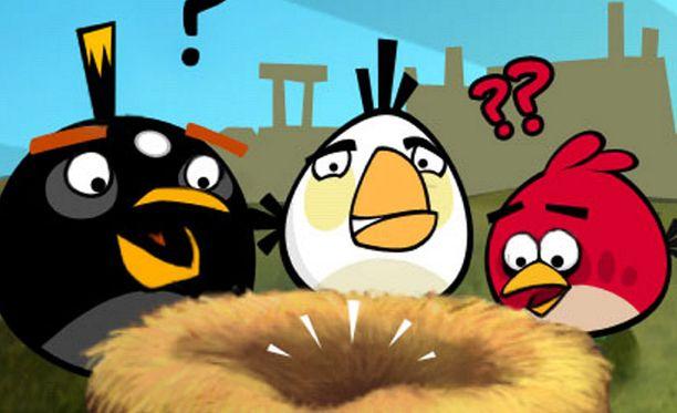 Angry Birds -peli on Rovion menestystuote.