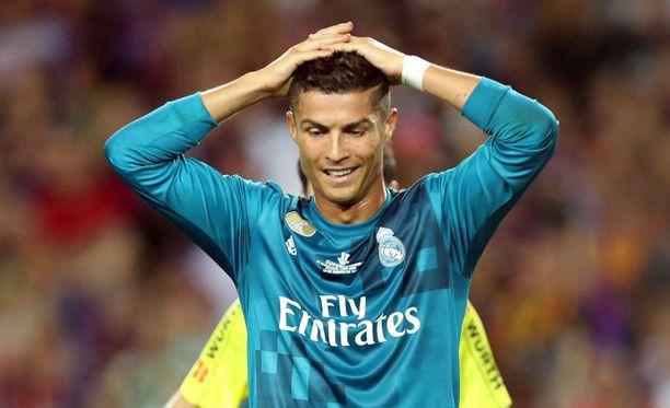 Cristiano Ronaldolla oli värikäs pariminuuttinen Espanjan Super Cupissa.