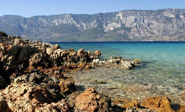 Etelä-Turkin rannikolta löytyy myös rauhallisia maisemia.
