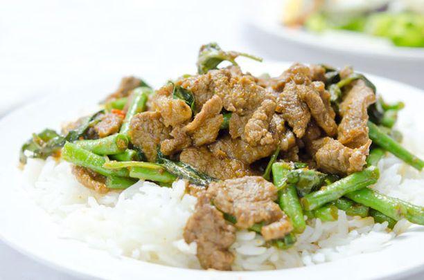 Kiinalaisravintoloiden riisi on puhdistettua, ja usein vielä paistettuakin.