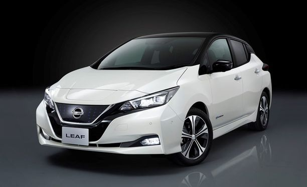 Uudessa Nissan Leafissä on kaksisuuntainen latausmahdollisuus.