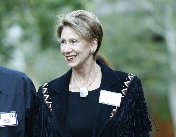 Barbara Barrett arkistokuvassa heinäkuussa 2014.