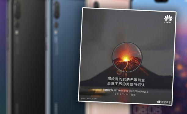 Huawei-johtajan kuvajako ei mennyt ihan putkeen.