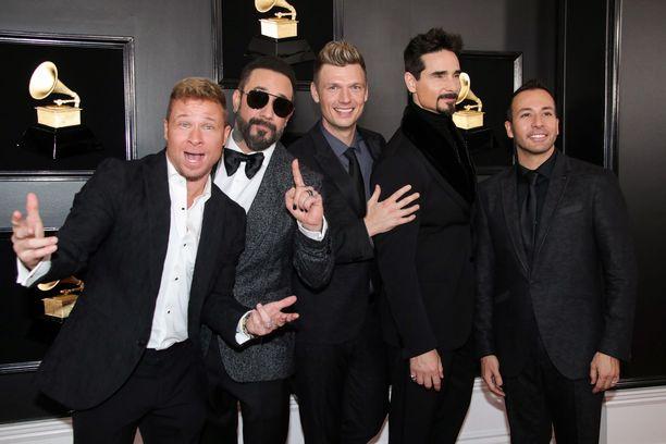 Backstreet Boys on esiintynyt jo useasti Suomessa,