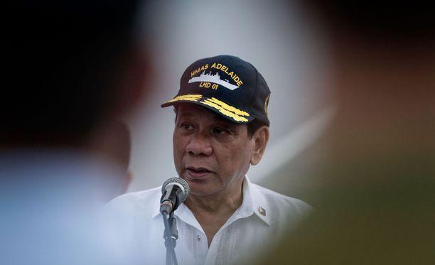 Filippiinien presidentti Rodrigo Duterte julisti heti valtaan noustuaan sodan huumekauppiaille.