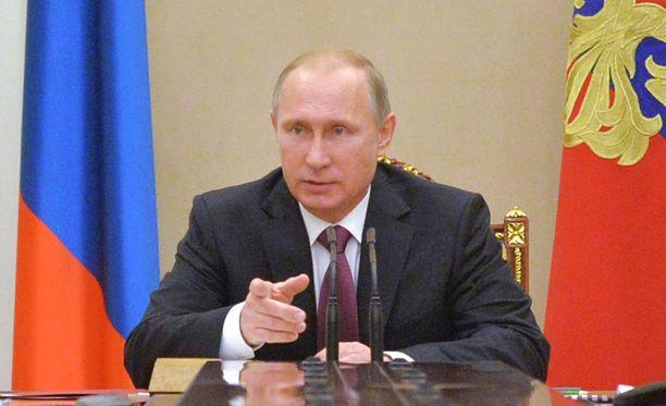 Vladimir Putin johti Venäjän turvallisuusneuvoston kokousta Tapaninpäivänä.