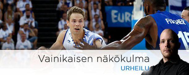 Petteri Koponen pelasi yhden maajoukkueuransa vaisuimmista peleistä.