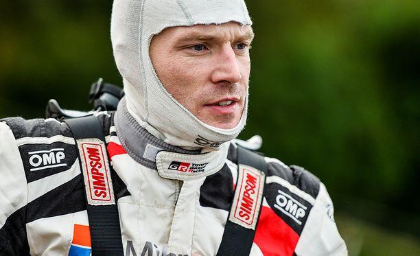 Jari-Matti Latvala innostui Toyotan uusista säädöistä hieman liikaa.
