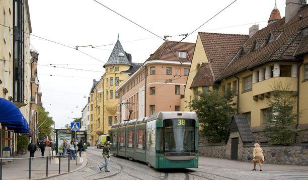 Julkiset palvelut ovat parempia varakkailla alueilla, kuten Helsingin Eirassa.