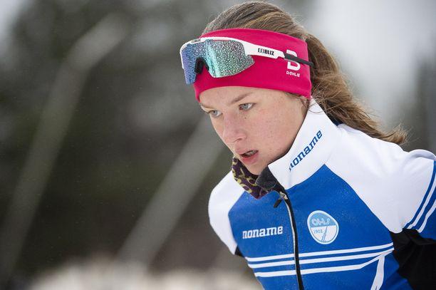 Ida Roponen, 14, on harrastanut aiemmin muun muassa uintia.