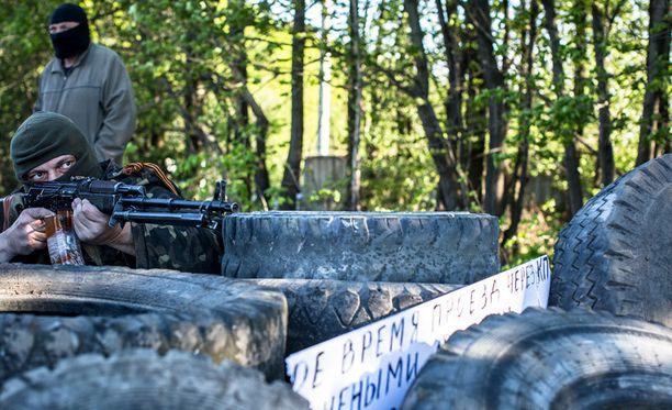 Slovjansk sijaitsee Donetskin alueella, missä Etyj maanantaina menetti yhteyden yhteen tarkkailijaryhmistään.