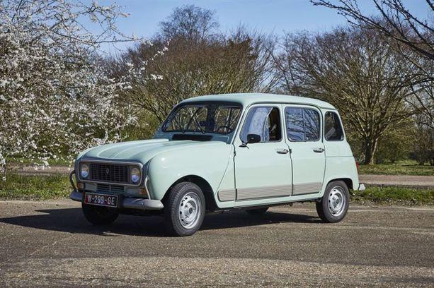 Klassikko Tipparellu. Autoa valmistettiin vuodesta 1961 aina 90-luvun alkuvuosille asti.