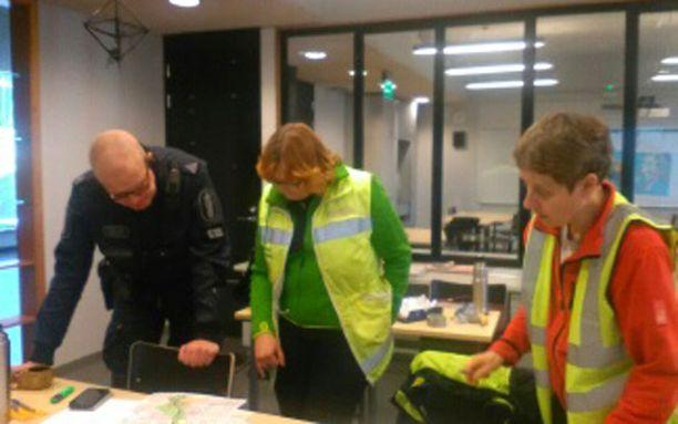 Vapepa etsi Harry Karjalaista Sipoon alueelta viikonloppuna poliisin johtamana.
