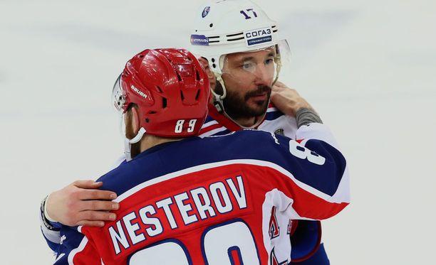 Ilja Kovaltshuk poistui KHL-areenoilta.