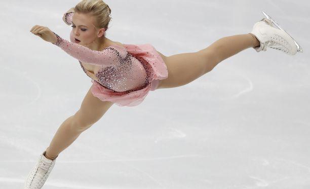 Emmi Peltonen sijoittui tammikuussa Moskovan EM-kilpailuissa yhdeksänneksi.