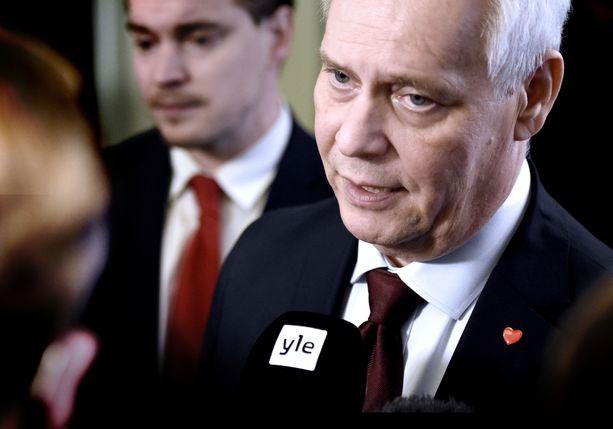 Suomen todennäköisesti seuraava pääministeri, SDP:n puheenjohtaja Antti Rinne.