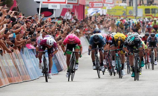 Giro d'Italiasta on ajettu kolme etappia.