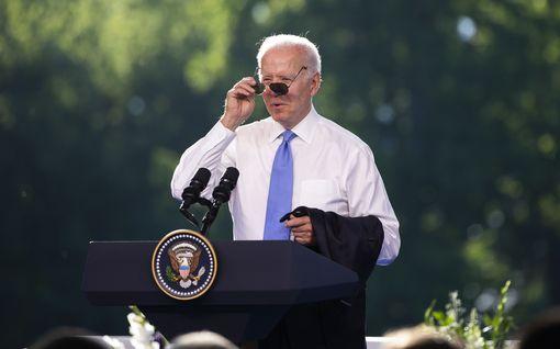 """Myös Biden menetti malttinsa toimittajalle, pahoitteli käytöstään: """"Olet väärällä alalla"""""""