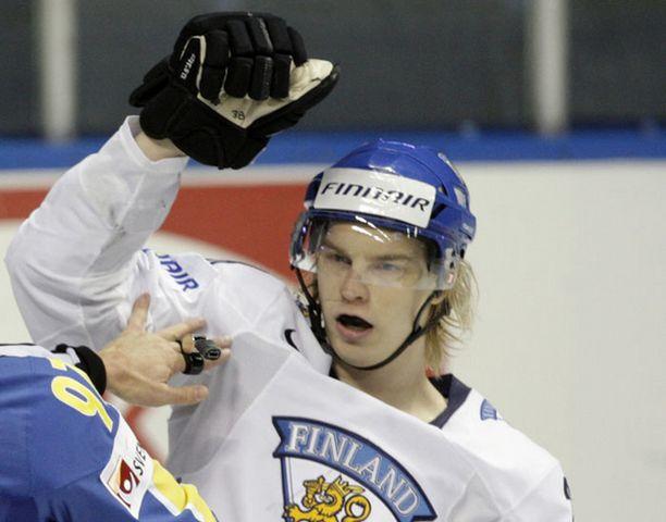 Antti Pihlströmistä tuli uusi nimi Ruotsin kaatajien joukkoon.