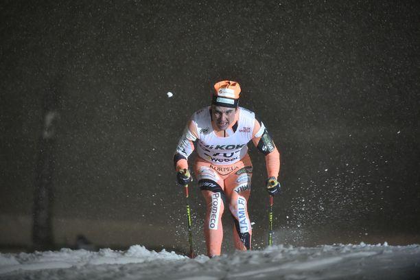 Ristomatti Hakola oli päivän paras 10 kilometrin kilpailussa.