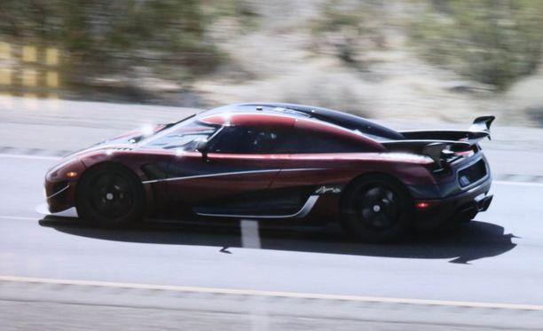 Koenigsegg Agera RS ajoi viime vuonna maailmanennätysnopeuden.