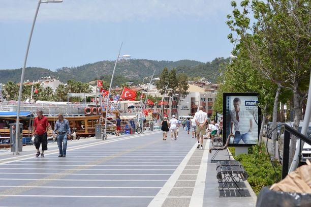 Marmaris on suosittu turistikohde Välimerellä.