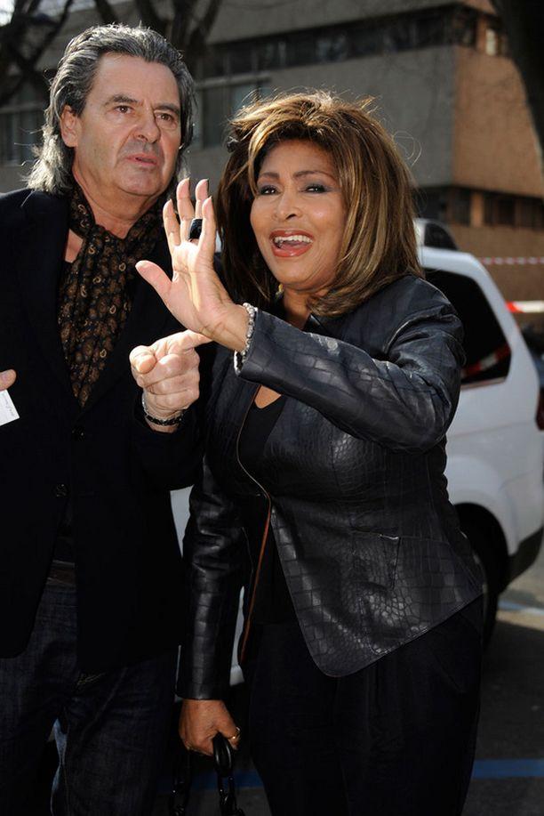 Erwin Bach ja Tina Turner ovat olleet yhdessä miltei kolmekymmentä vuotta.