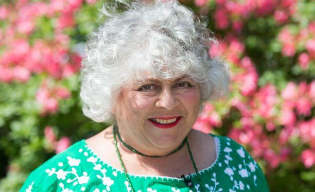 Miriam Margolyes on esiintynyt useissa koko perheen elokuvissa.