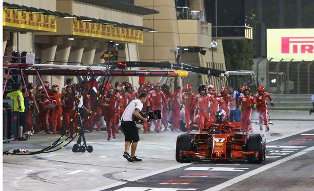 Bahrainin GP päättyi Kimi Räikkösen osalta aivan liian aikaisin.