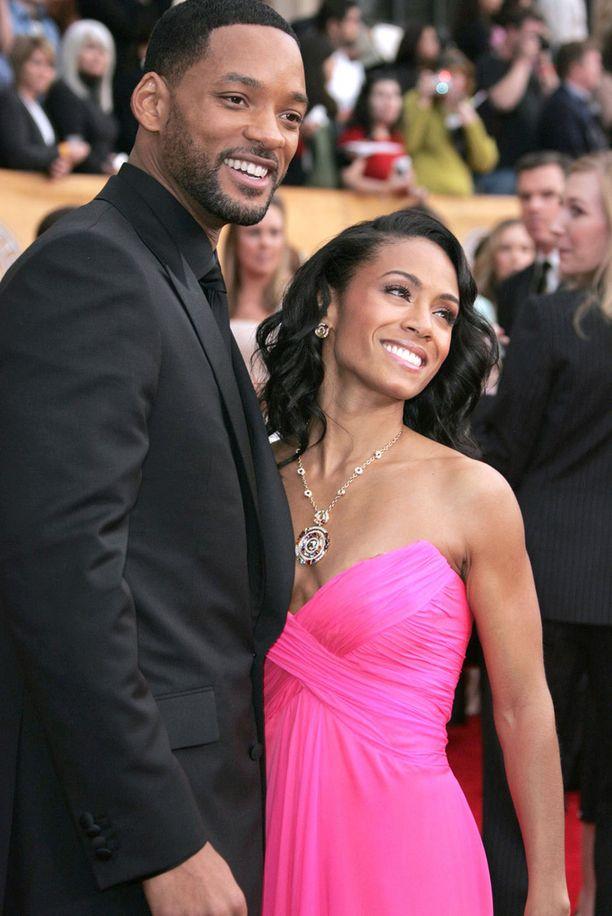 Will Smith ja Jada Pinkett Smith eivät osallistu Oscareihin.