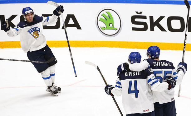 Suomi kohtaa puolivälierässä MM-kisojen yllättäjäjoukkue Tanskan.