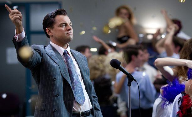 Wolf of Wall Street -elokuvaa ladattiin laittomasti verkosta noin 30 miljoonaa kertaa.